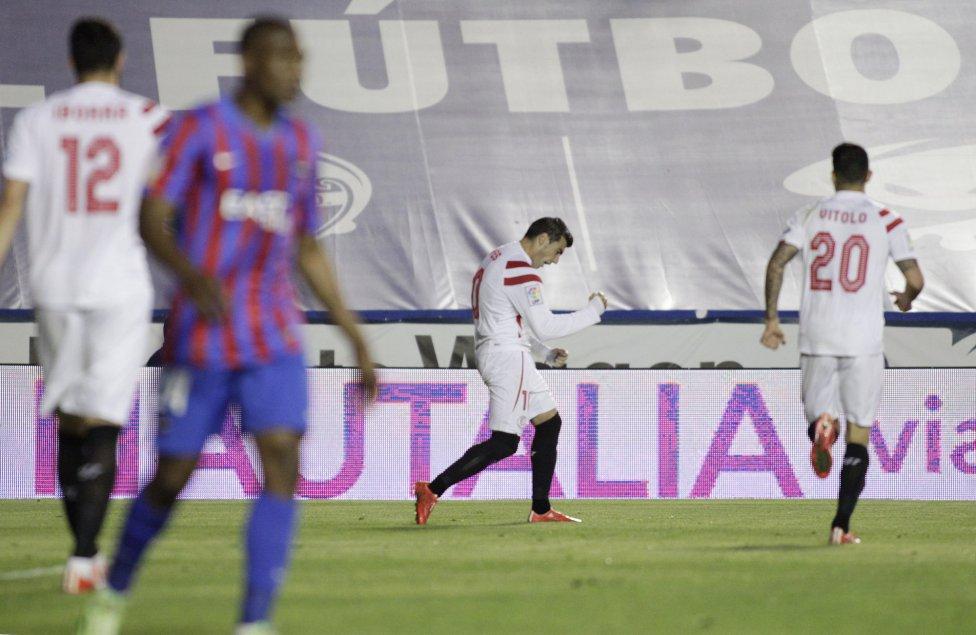 Crónica   UD Levante 1 – 2 Sevilla FC