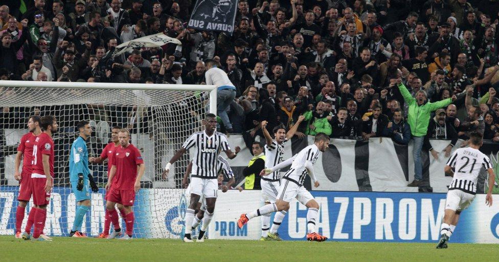 Valoraciones | Juventus 2-0 Sevilla FC