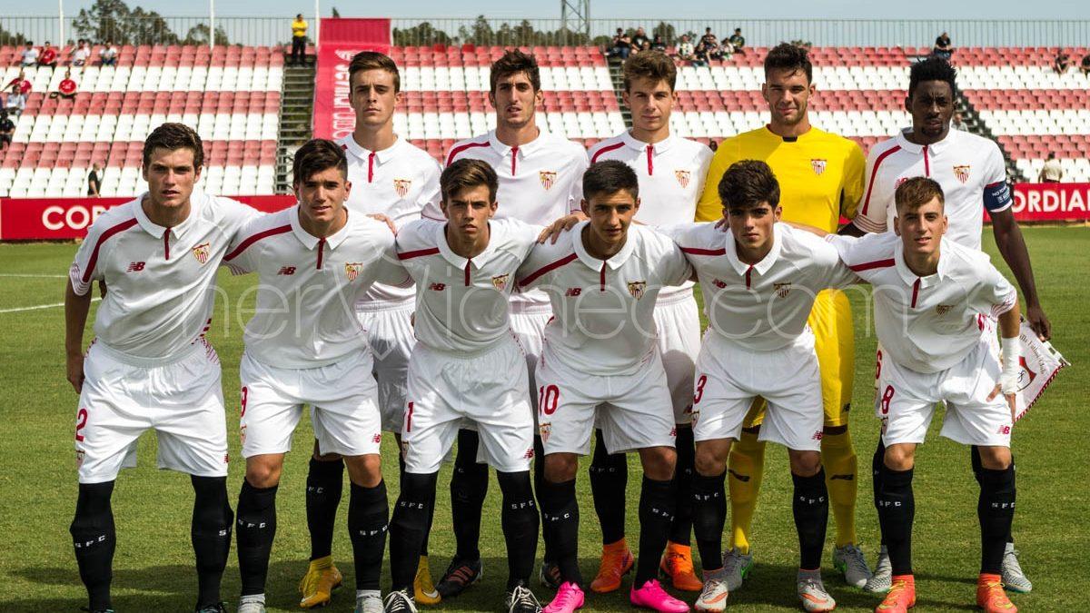 Fotogalería | Sevilla FC – B. Mönchengladbach (UEFA Youth League Juvenil G. D)