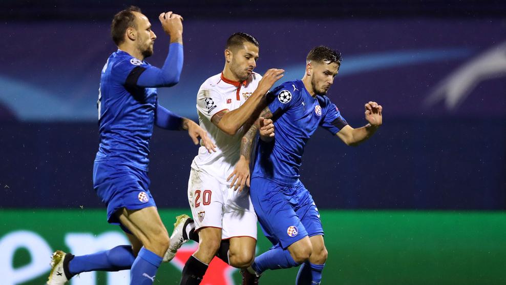 Crónica | Dinamo de Zagreb 0-1 Sevilla FC