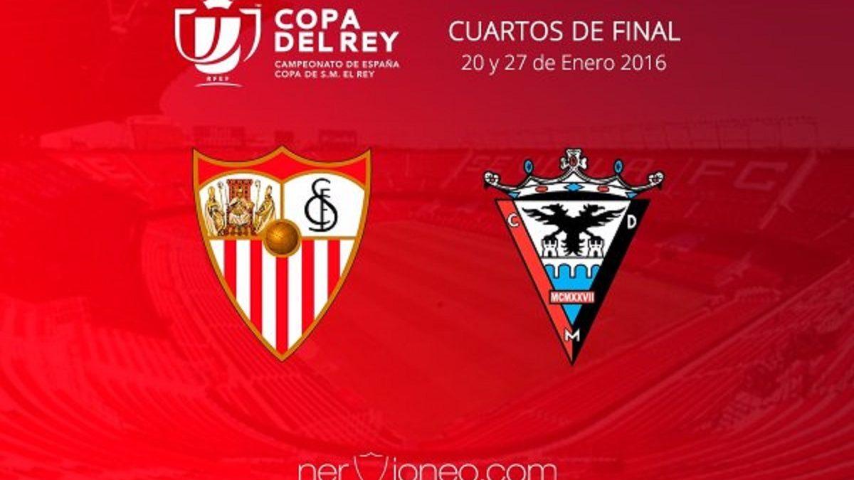 El CD Mirandés, rival del Sevilla FC en cuartos de Copa