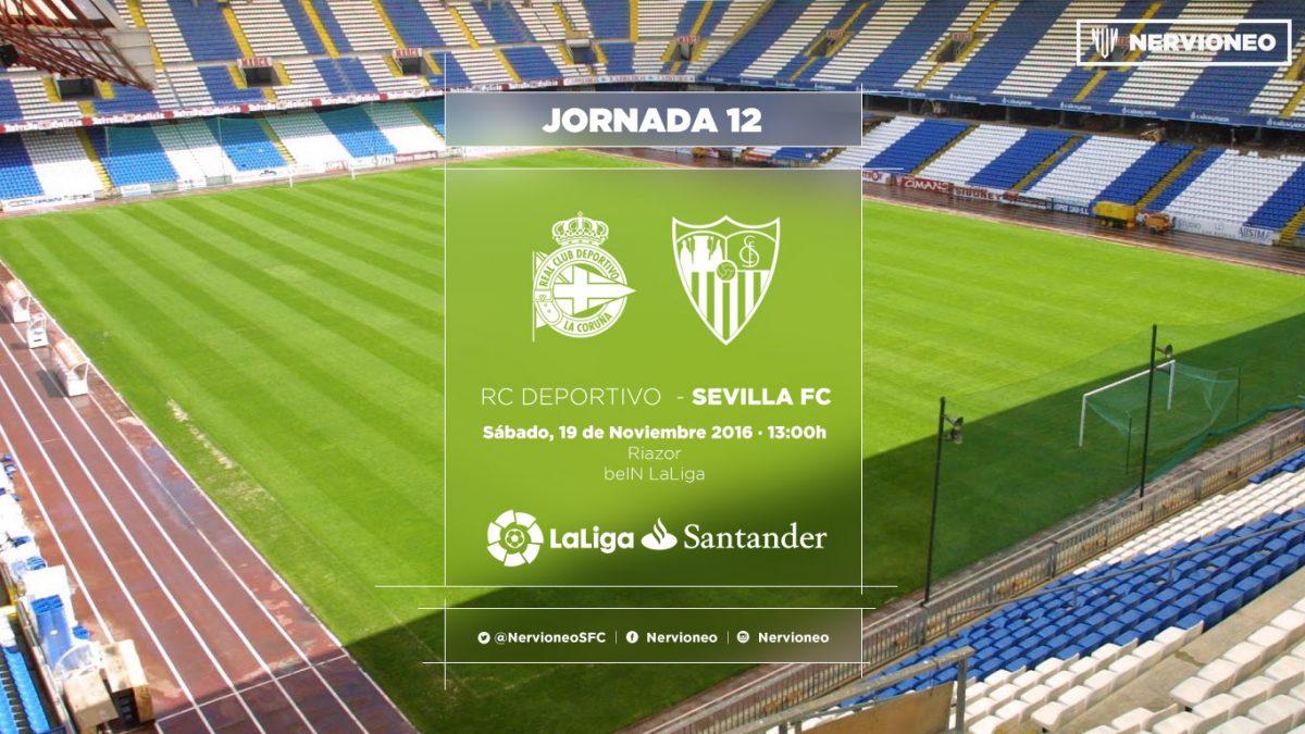Previa   Deportivo de La Coruña – Sevilla FC