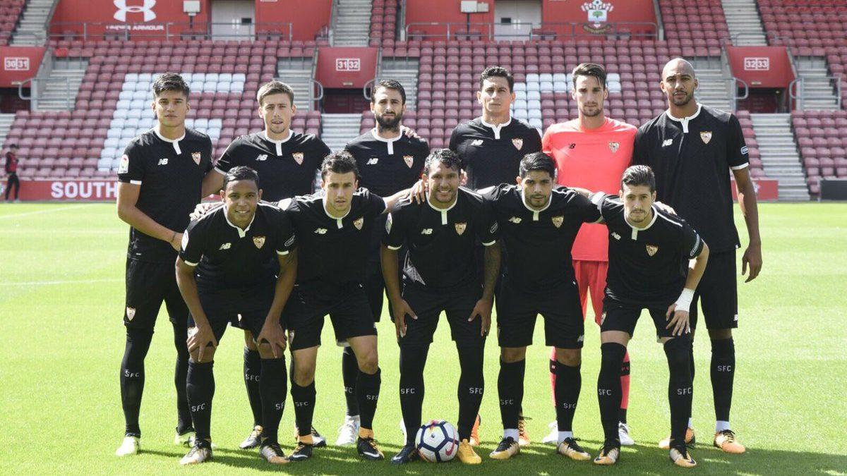 Lista de 23 inscritos del Sevilla FC para la Champions League