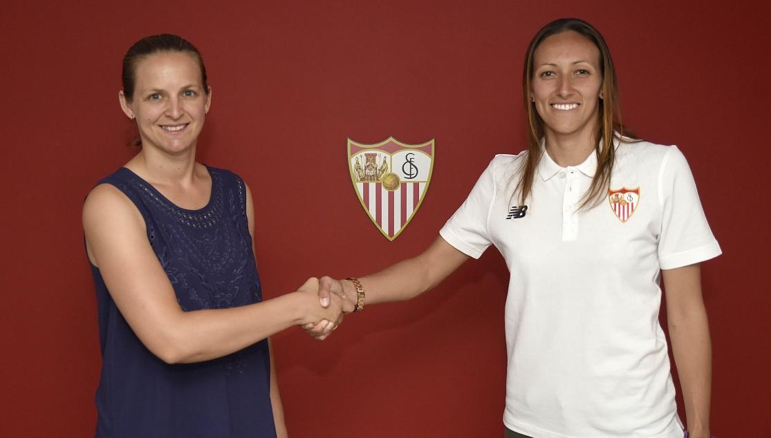 EL Sevilla Femenino renueva a Paloma Tajonar