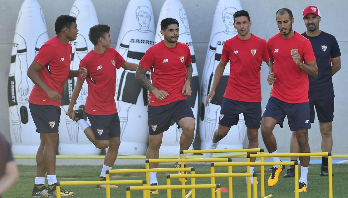 Berizzo convoca a 20 jugadores contra la Roma