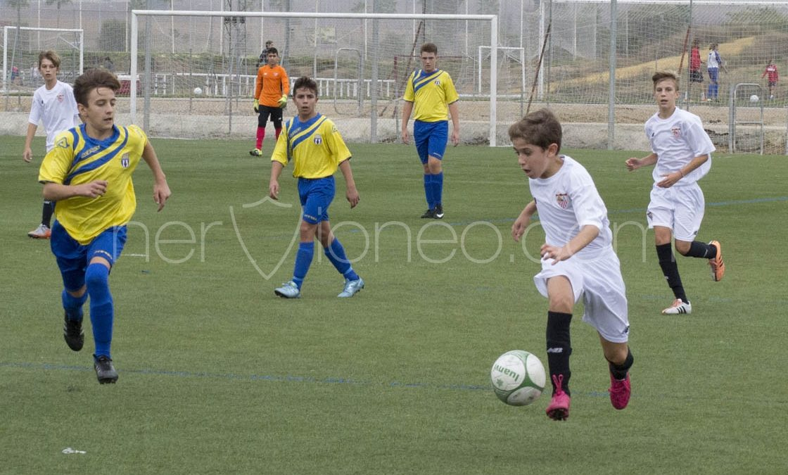 Fotogalería   Sevilla FC – C. D. Antonio Puerta (3ª Andaluza Infantil G.1 – SE)