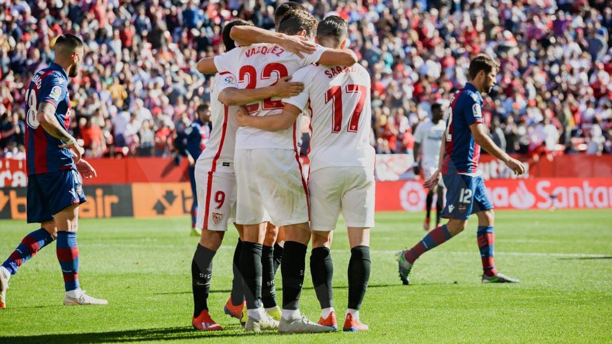 Crónica | Sevilla FC 5-0 Levante UD