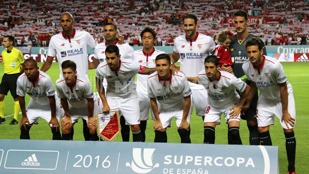 Fotogalería | Sevilla FC – FC Barcelona (Ida Supercopa de España)