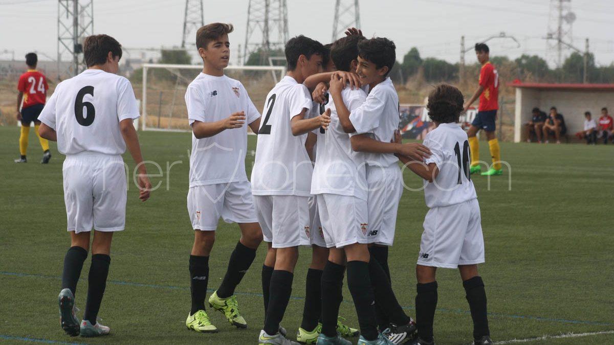 Fotogalería | Sevilla FC Infantil B – CD Los Palacios CF (2ª Andaluza Infantil – SE)