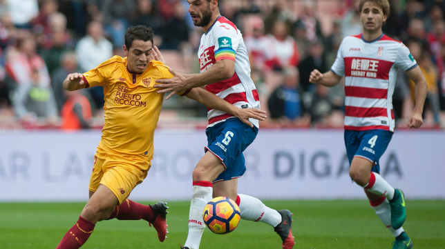 Análisis táctico | Granada CF 2-1 Sevilla FC