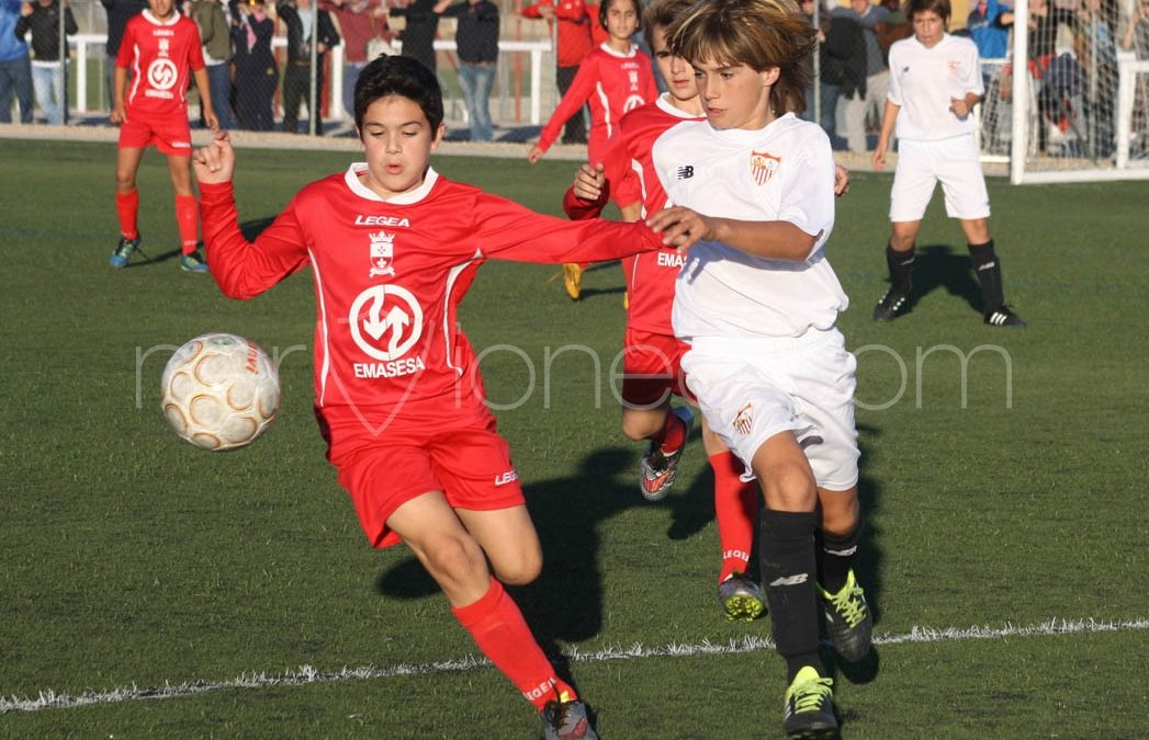 Fotogalería | Sevilla FC – AD San José (2ª Andaluza Alevín – SE)