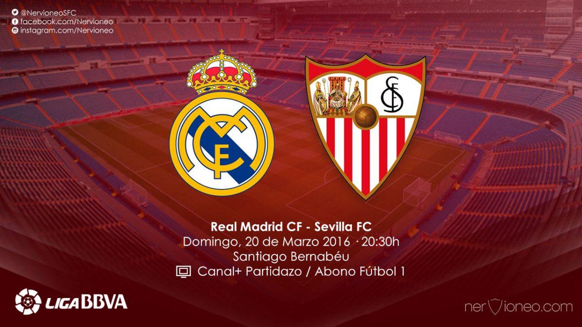 Previa | Real Madrid CF – Sevilla FC