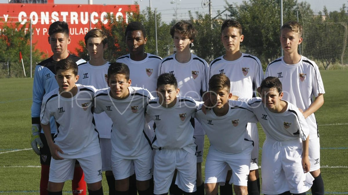 Fotogalería   Sevilla FC – CD Alcolea (2ª Andaluza Infantil – SE)