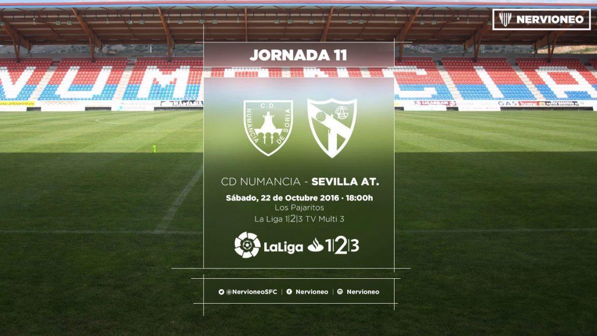 Previa | CD Numancia – Sevilla Atlético