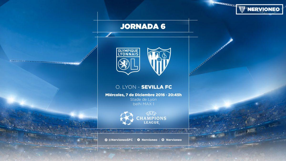 Previa | Olympique de Lyon – Sevilla FC