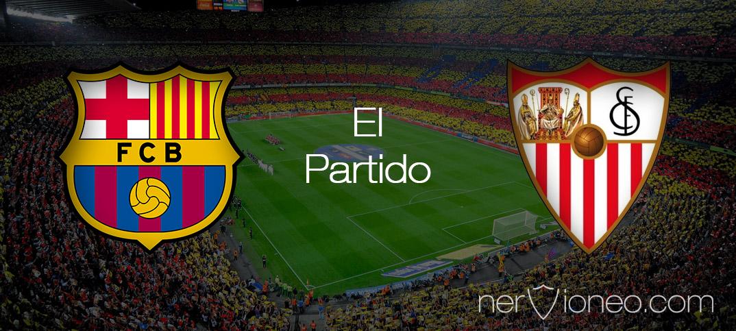 Partido | FC Barcelona – Sevilla FC