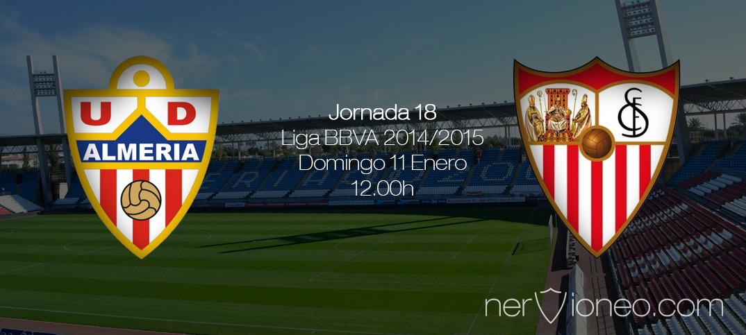 Previa   UD Almería – Sevilla FC