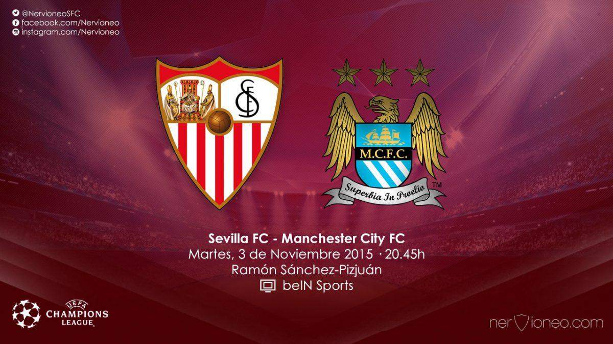 Previa | Sevilla FC – Manchester City FC