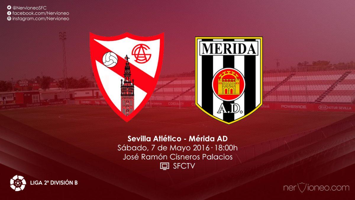 Previa | Sevilla Atlético – Mérida AD