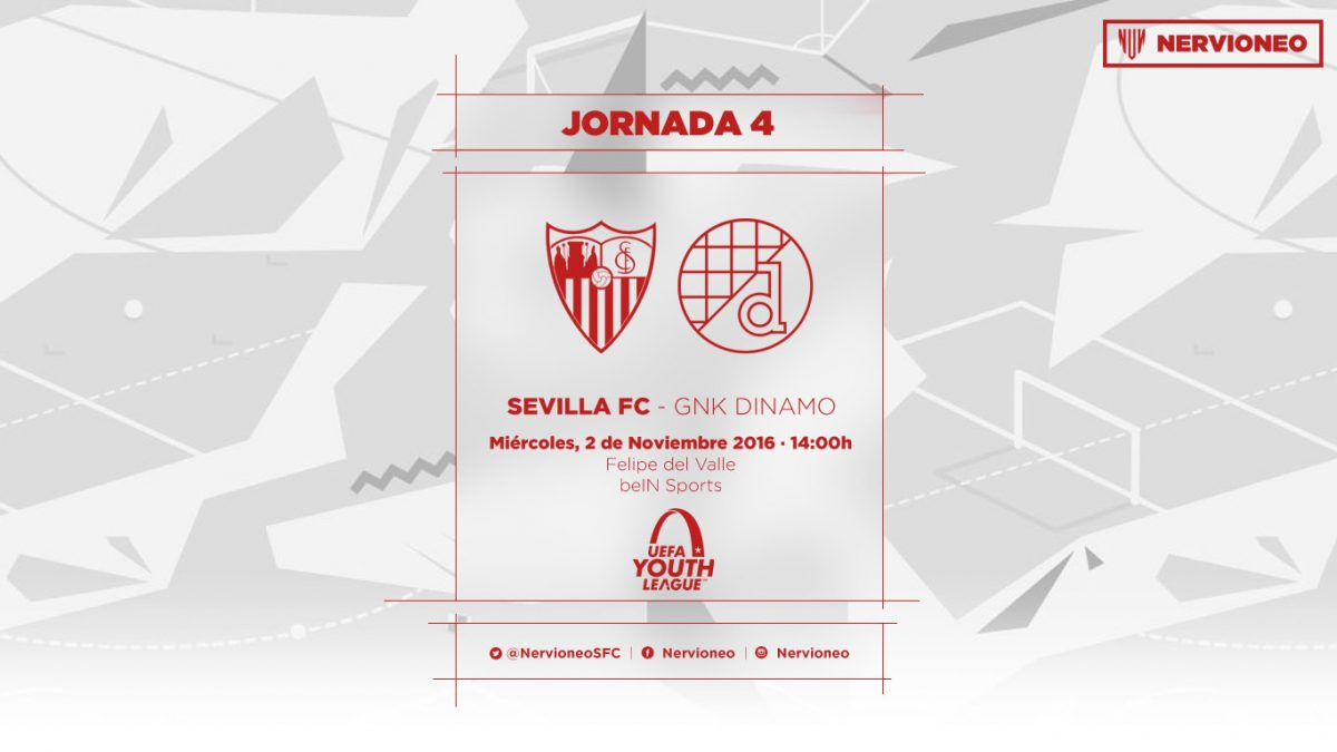 Previa | Sevilla FC – GNK Dinamo u19