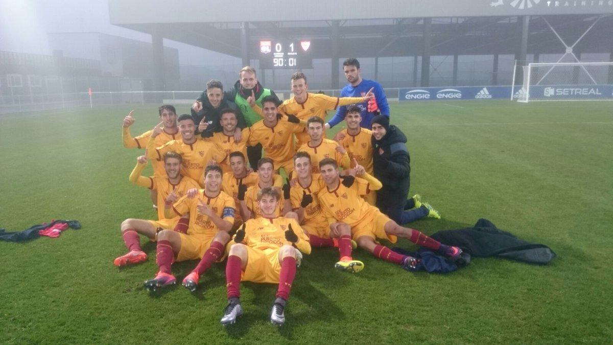 El Sevilla FC ya espera equipo en 1/8 de la Youth League