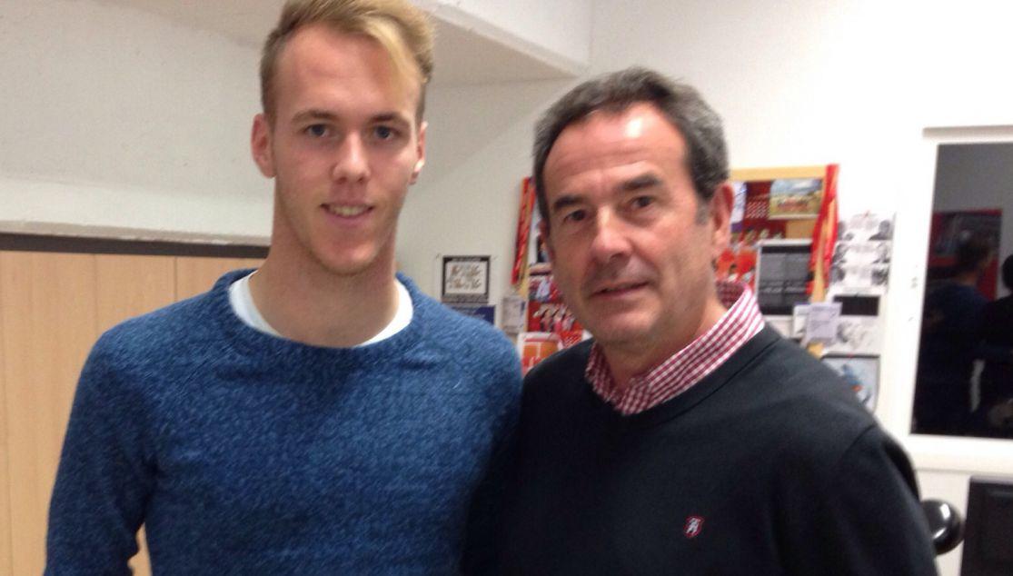 Brian Jaén refuerza la portería del Sevilla DH