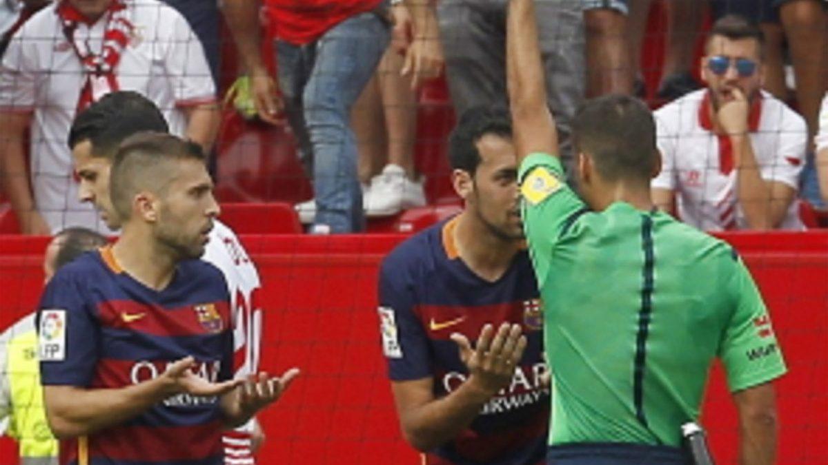 Análisis arbitral | Sevilla FC 2-1 FC Barcelona