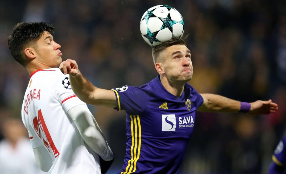 Análisis táctico | NK Maribor 1-1 Sevilla FC