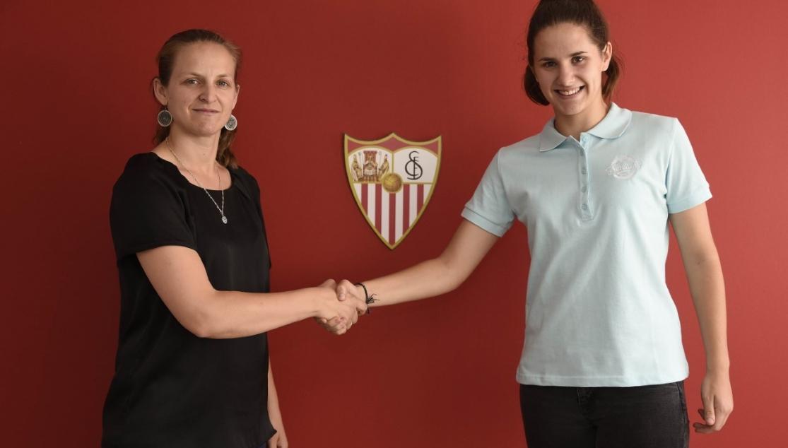Helena Torres, nueva jugadora del Sevilla Femenino