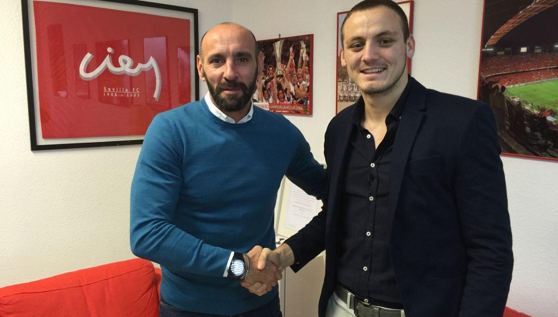 Andrija Vukcevic, refuerzo para el Sevilla Atlético