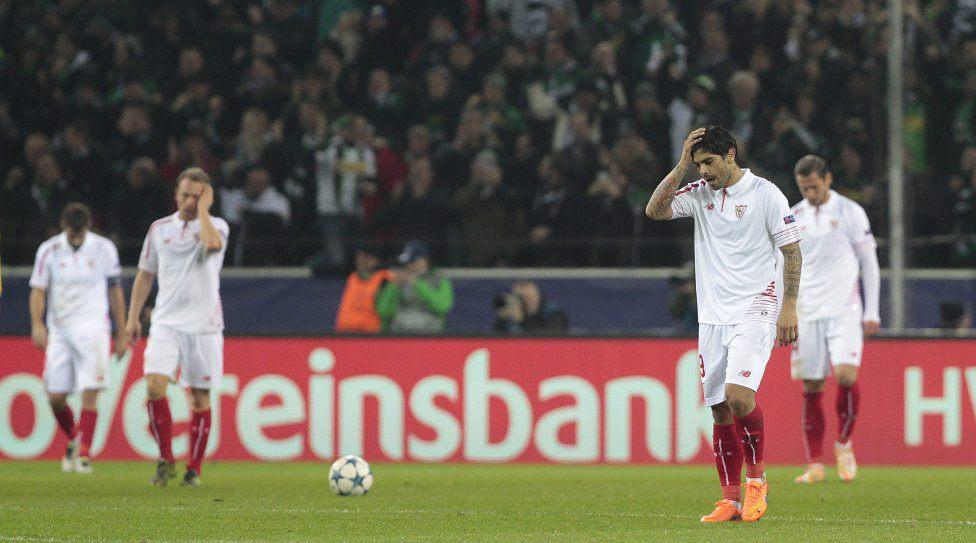 Valoraciones | Borussia Monchengladbach 4-2 Sevilla FC