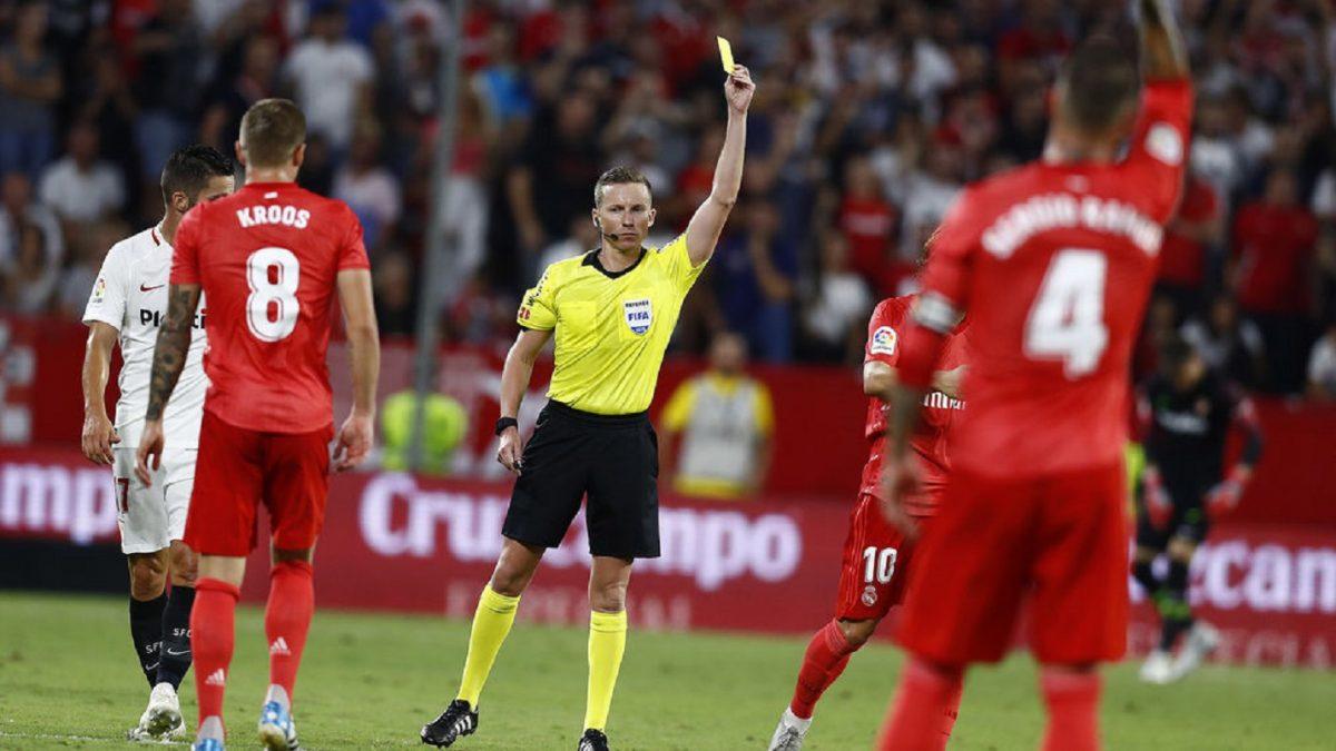Análisis arbitral   Sevilla FC 3-0 Real Madrid