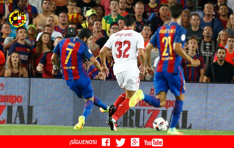 Crónica | FC Barcelona 3-0 Sevilla FC