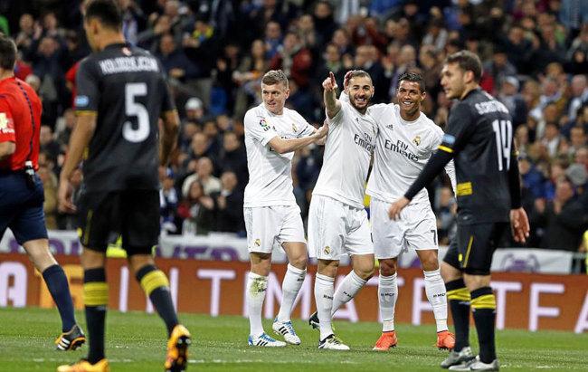 Crónica | Real Madrid CF 4-0 Sevilla FC