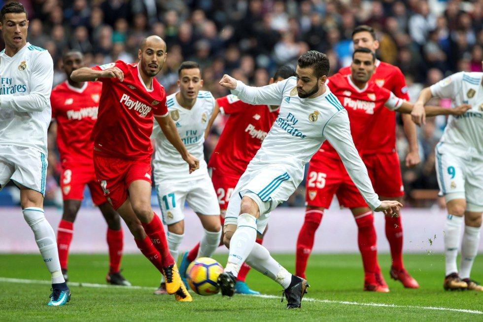 Análisis táctico   Real Madrid CF 5-0 Sevilla FC