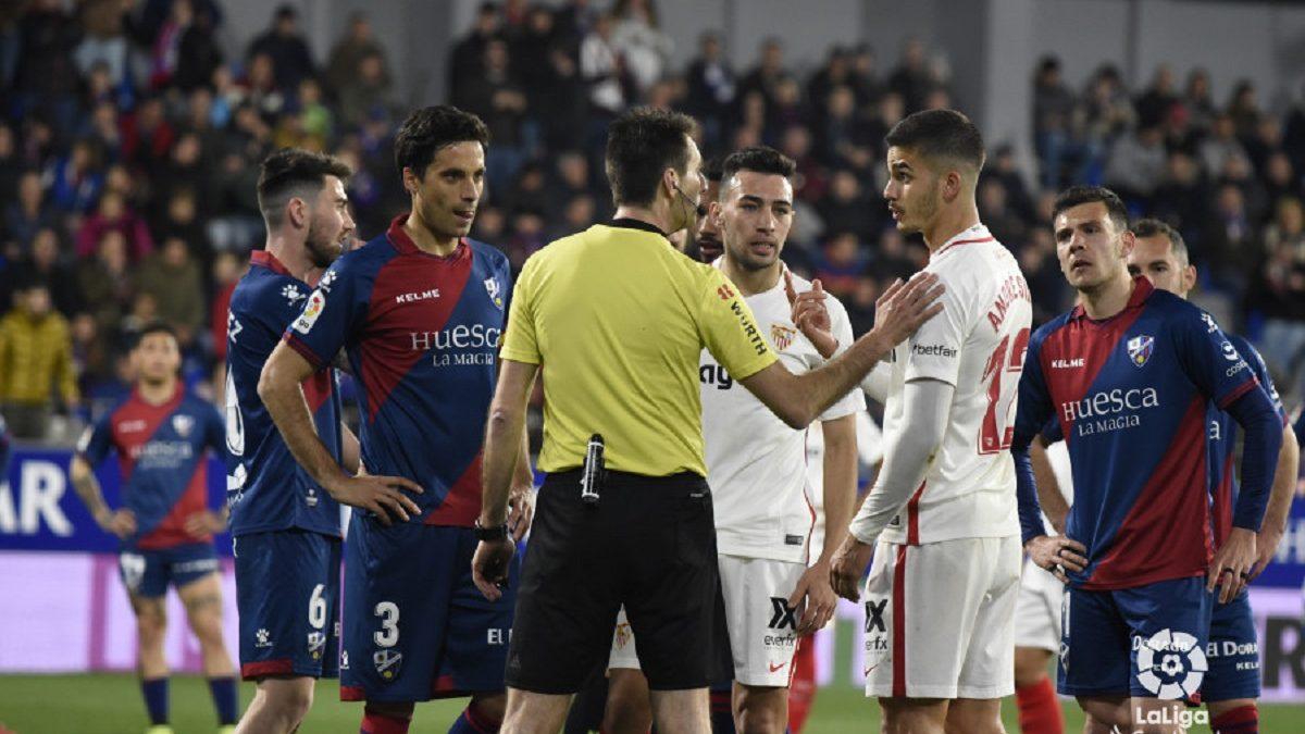 Análisis arbitral   SD Huesca 2-1 Sevilla FC