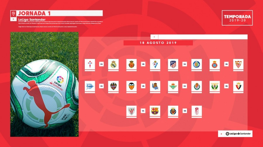 Sevilla FC | Calendario La Liga 19/20