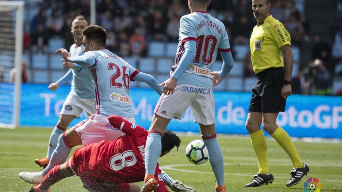 Análisis arbitral | RC Celta 4-0 Sevilla FC