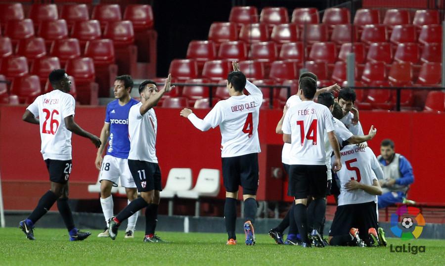 Cerca de cien mil espectadores fueron a Nervión a ver al Sevilla Atlético