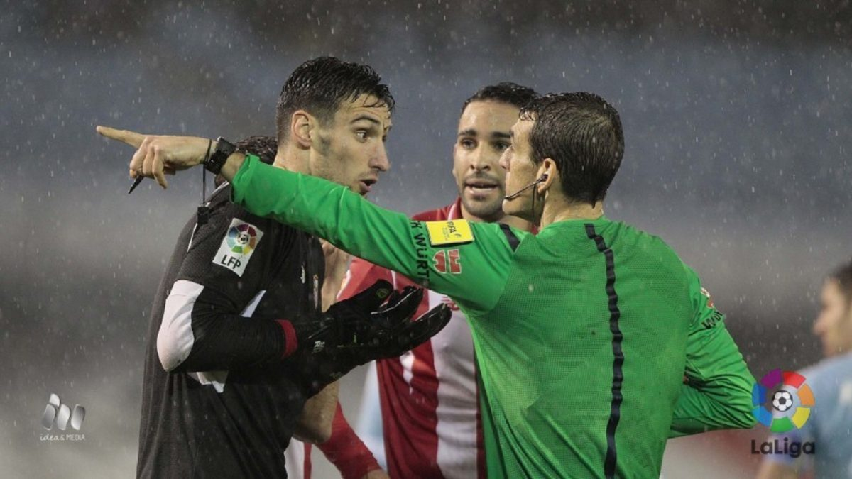 Análisis arbitral   RC Celta de Vigo 2-2 Sevilla FC