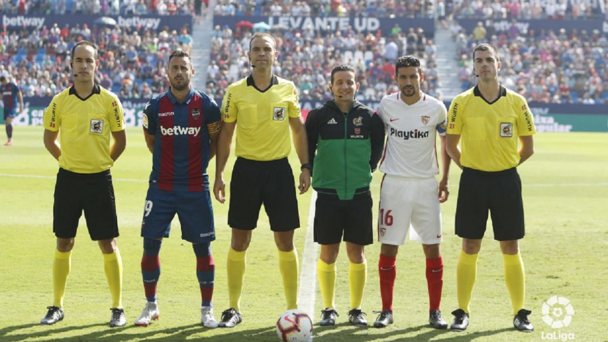 Análisis arbitral | Levante UD 2-6 Sevilla FC