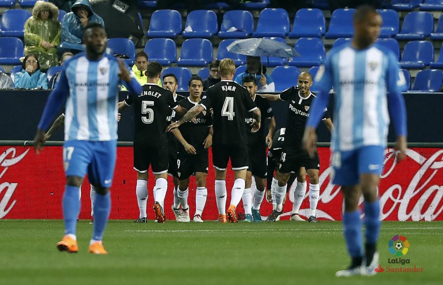 Crónica | Málaga CF 0-1 Sevilla FC