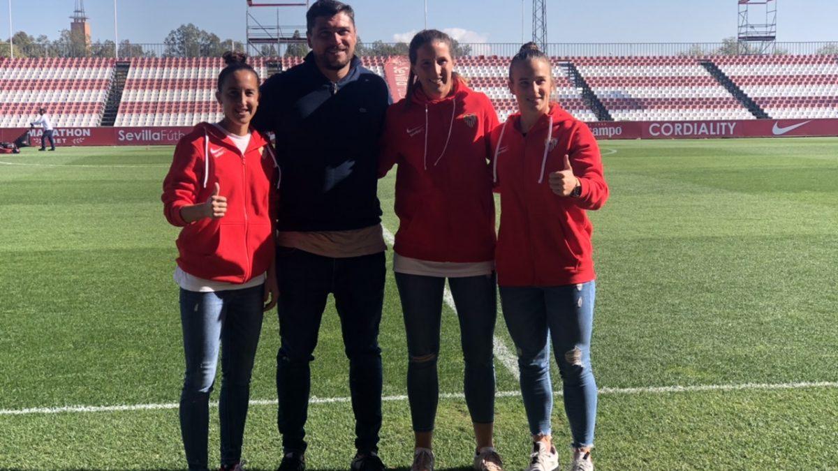 Entrevista   'Media Day' del Sevilla FC Femenino previo al derbi