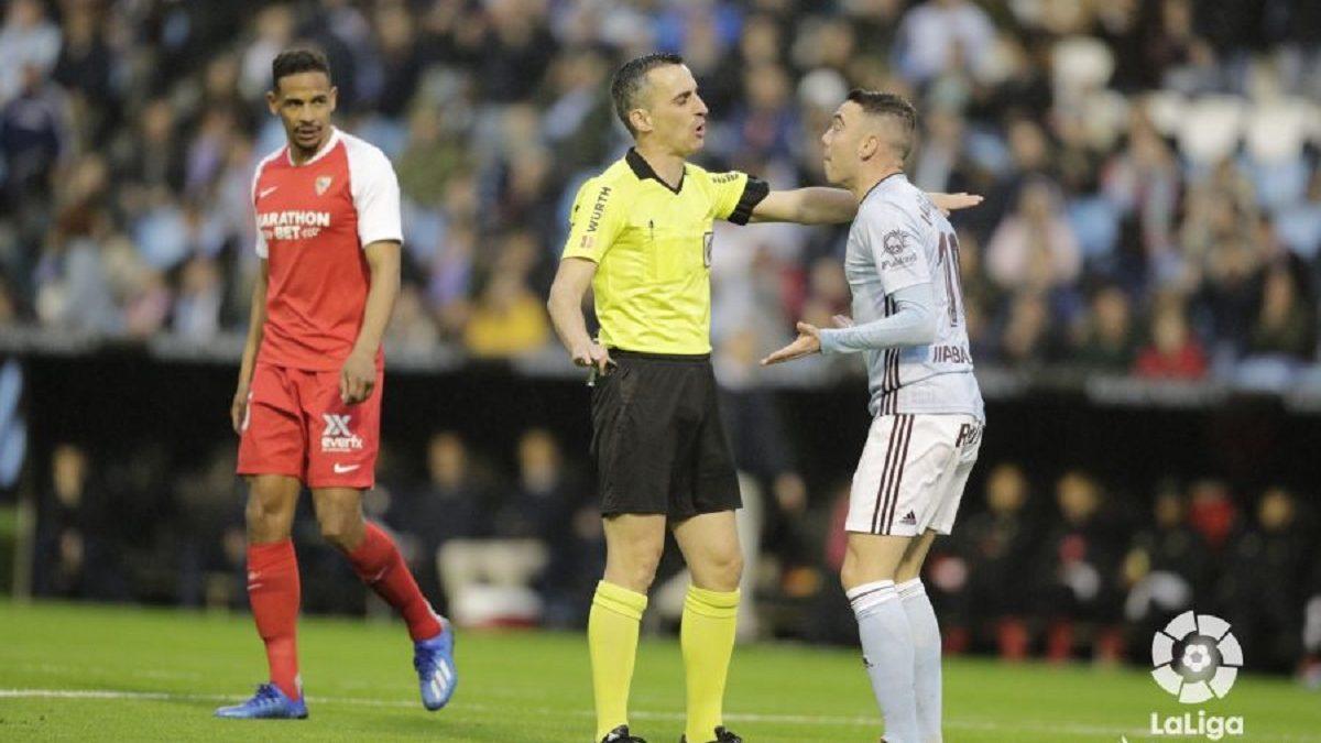 Análisis arbitral | RC Celta 2-1 Sevilla FC