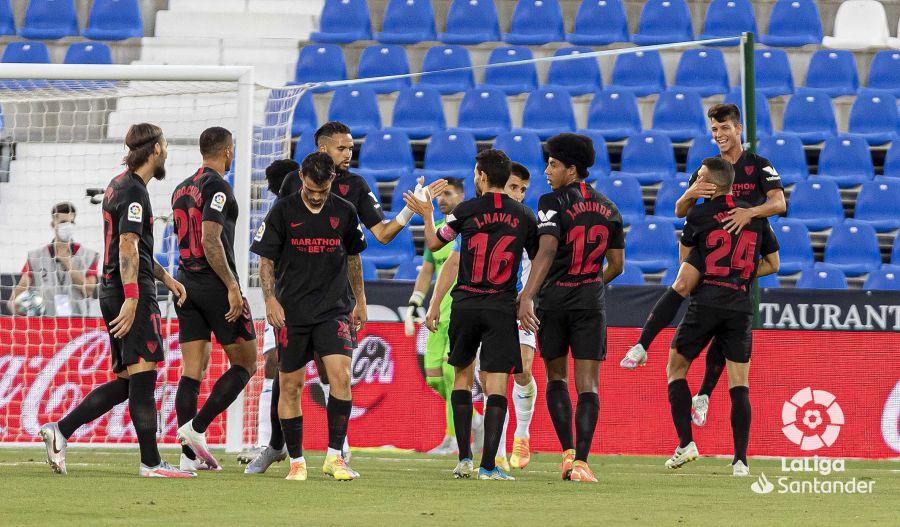 Crónica | CD Leganés 0-3 Sevilla FC