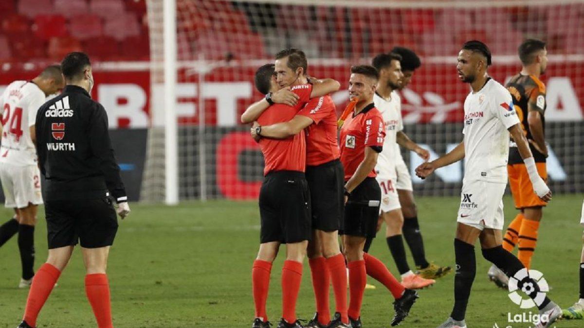 Análisis arbitral | Sevilla FC 1-0 Valencia CF
