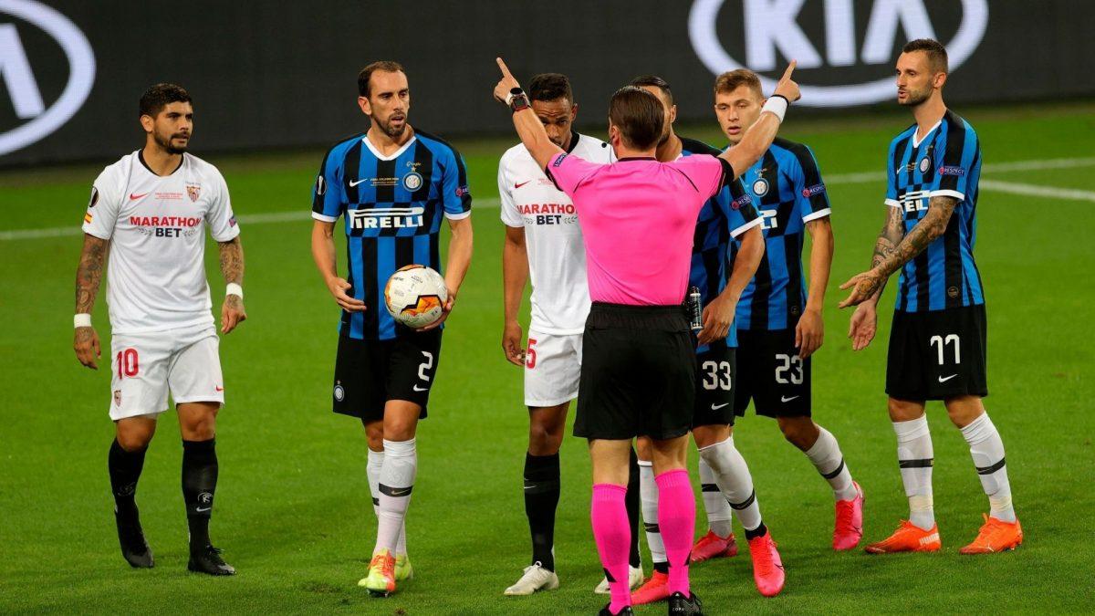 Análisis arbitral   Sevilla FC 3-2 Inter de Milán