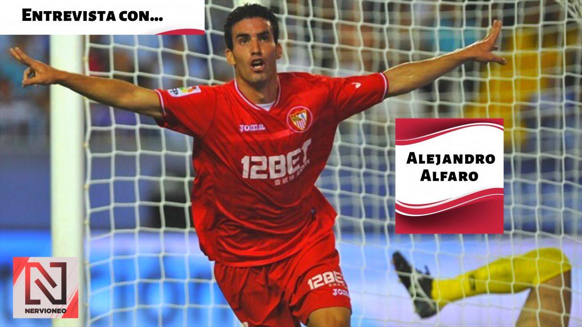 "Entrevista | A. Alfaro: ""El Sevilla FC es mi casa"" (entrevista íntegra en Youtube)"