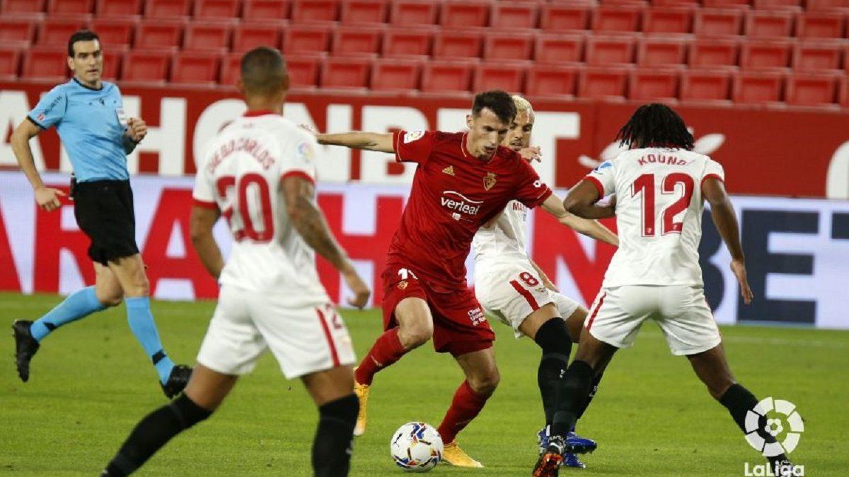 Análisis arbitral   Sevilla FC 1-0 CA Osasuna