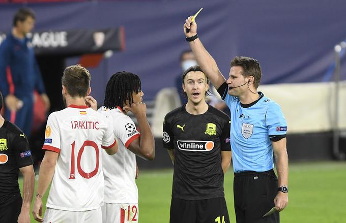 Análisis arbitral | Sevilla FC 3-2 FC Krasnodar